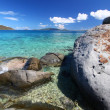 Coastline in British Virgin Islands — Stock Photo
