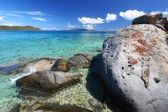 Coastline in British Virgin Islands — Stock Photo