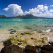 Major's Bay Beach - Saint Kitts — Stock Photo