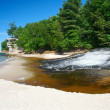 Chapel Creek at Lake Superior — Stock Photo