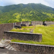 Brimstone Hill Fortress - Saint Kitts — Foto de stock #3605903