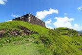 Fortaleza de brimstone hill - st. kitts — Foto de Stock