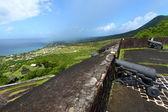 Coastline of Saint Kitts — Stock Photo