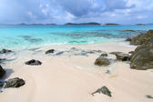 Honeymoon Beach - St John (USVI) — Stock Photo
