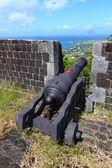 Brimstone Hill Fortress - Saint Kitts. — Stock Photo