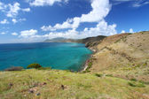 Coastline of Saint Kitts — Stock Photo