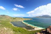 Majors Bay Beach - Saint Kitts — Stock Photo