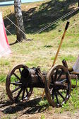 Ortaçağ savaş topu — Stok fotoğraf