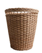 Wood basket — Stockfoto