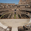 Stock Photo: Colosseum arena, inside view