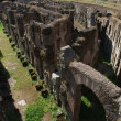 Colosseum, basement area below the arena — Stock Photo