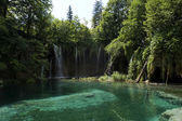 Plitvice Lakes National Park, Croatia. — Stock Photo