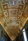 The vatican museum, ile view — Stock Photo