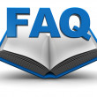 Royalty-Free Stock Photo: Faq icon