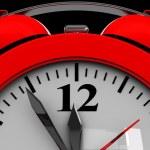 dial del reloj despertador — Foto de Stock