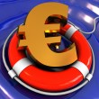 Royalty-Free Stock Photo: Euro rescue