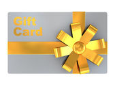 Gift card — Foto Stock