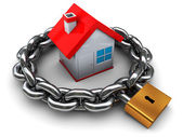 House security — Stock Photo