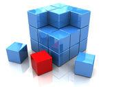 Blocks construction — Stock Photo