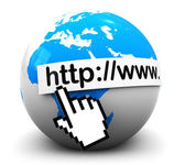 Internet address — Stock Photo