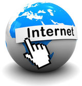 Internet — Stock Photo
