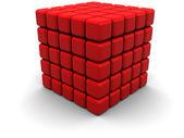 абстрактный куб — Стоковое фото