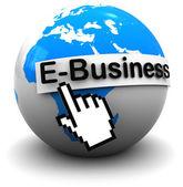 Internet business — Stock Photo