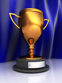 Trophy cup — Stock Photo
