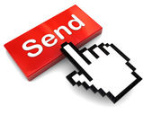 Send message — Stock Photo
