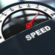 Speed gauge — Stock Photo #3554278