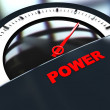 Power meter — Stock Photo