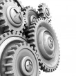 Gear wheels background — Stock Photo #3554320