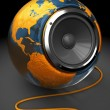 World music - Stockfoto