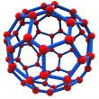 Molecular structure — Stock Photo