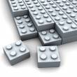 Puzzle blocks — Stock Photo