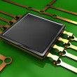 Electronic circuit — Stock Photo #3555002