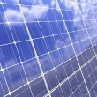 Solar panel background - Stock Photo