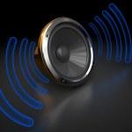 Audio speaker — Stock Photo #3555093