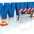 Web construction — Stock Photo