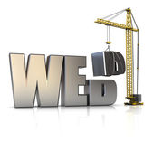 Web building — Stock Photo