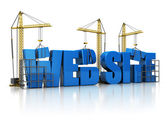 Website building — Stock Photo