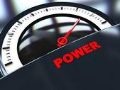 Power meter — Stock Photo