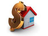 House price — Stock Photo