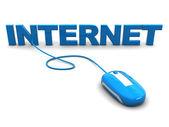 Internet browsing — Stock Photo