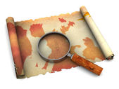 Ancient map — Stock Photo
