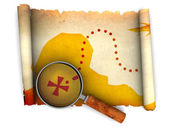 Treasure map — Stok fotoğraf