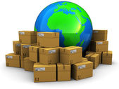 World cargo and shipping — Stock Photo