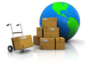 World delivery — Stock Photo