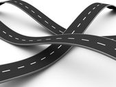 Road knot — Stock Photo