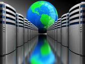 Internet servers — Stock Photo